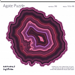 Agate Wooden Jigsaw Puzzle - ID 998