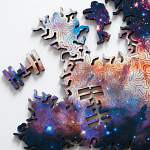 Infinite Galaxy Wooden Jigsaw Puzzle 2 - Double-sided