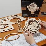 ROKR Wooden Mechanical Gears - Perpetual Calendar