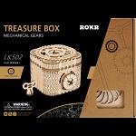 ROKR Wooden Mechanical Gears - Treasure Box