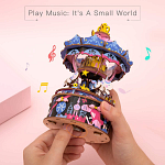 Rolife DIY Wooden Music Box - Starry Night