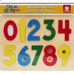 Little Moppet: Number Chunky Wooden Puzzle
