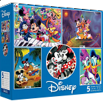 Disney: 5 in 1 Jigsaw Puzzle Multi-Pack