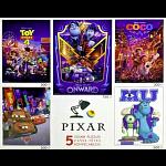 Disney Pixar: 5 in 1 Jigsaw Puzzle Multi-Pack #2