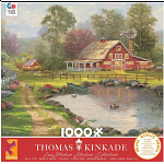 Thomas Kinkade: Red Barn Retreat