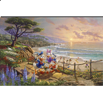 Thomas Kinkade: Disney - A Duck Day Afternoon
