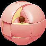 Fruit Series: Peach Cube