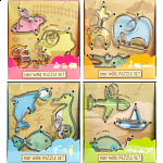 First Wire Puzzles - Set of 4