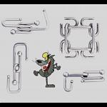 Puzzle Mania - Set of 4