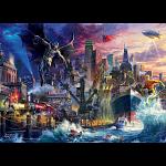 DC Comics: Thomas Kinkade - Justice League Showdown