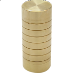 Spinning Tumblers Brass Puzzle