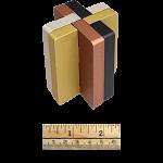 Croisillon Type D8 - Metal Puzzle