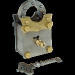 Sanyojan Puzzle Lock - Brass & Iron