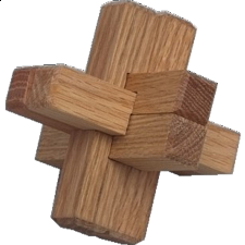 Triple Cross - Wood Puzzles