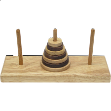 Tower of Hanoi - Puzzle Master Wood Puzzles