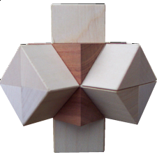 Double Cross - Wood Puzzles