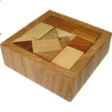 Square AC2 (tray 2) - European Wood Puzzles