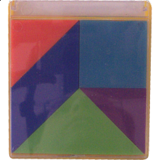 Build the Seven - Tangram Puzzles