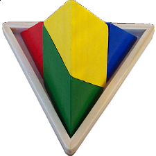 Triangulator - Wood Puzzles