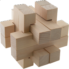 Star Box - Puzzle Master Wood Puzzles