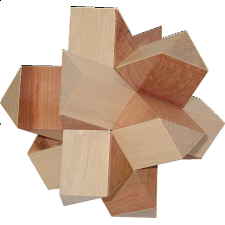 Cross 132 - European Wood Puzzles