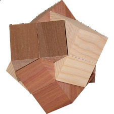 Hexatriangle - Wood Puzzles