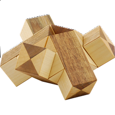 Two Tripods - Wood Puzzles