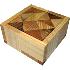 Cuboid 1 (with tray) - Wood Puzzles