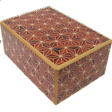 4 Sun 10 Step Akaasa - Wood Puzzles