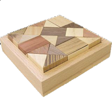 Square AC3 - European Wood Puzzles