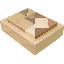 Rectangle AC1 - Wood Puzzles