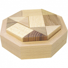 Octagon AC - Wood Puzzles