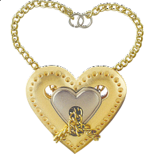 Cast Heart - Hanayama Metal Puzzles