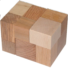 Block or Cube - Wood Puzzles