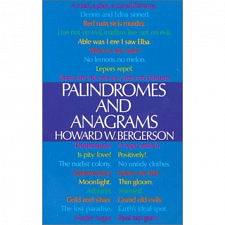 Palindromes and Anagrams - Book - More Puzzles
