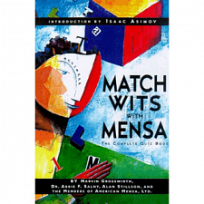 Match Wits with Mensa - Book