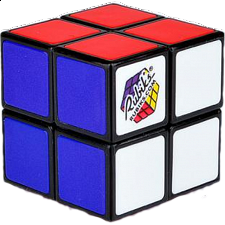 Rubik's Mini Cube (2x2) - Packaged - Rubik's Cube