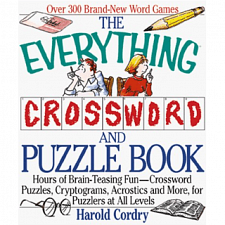 The Everything Crossword and Puzzle Book - Book - Cross Word Puzzles