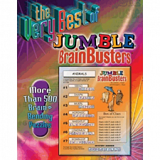 The Very Best of Jumble BrainBusters - Book