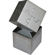 Cube Puzzle - Metal - Other Wire / Metal Puzzles