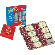 Fifteen Puzzle - Thinkfun - Sliding Pieces Puzzles