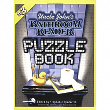 Uncle John's Bathroom Reader Puzzle Book #3 - Book - Brain Teaser