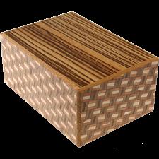 4 Sun 12 Step Zebra / Kuzushi - Japanese Puzzle Boxes