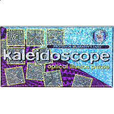 Kaleidoscope Optical Illusion Puzzle - Jigsaws