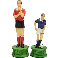 Soccer Player - Chess Pieces - Themed
