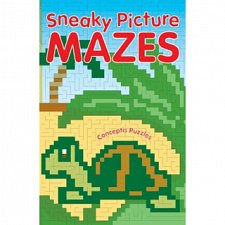 Sneaky Picture Mazes - Book -