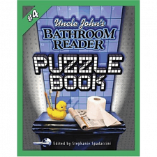Uncle John's Bathroom Reader Puzzle Book #4 - Book - More Puzzles
