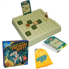 Treasure Quest - Sliding Pieces Puzzles
