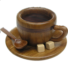 Coffee Cup - Japanese Puzzle Boxes
