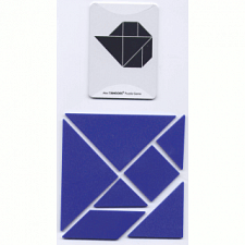 Tangoes Mini - Blue - Tangram Puzzles